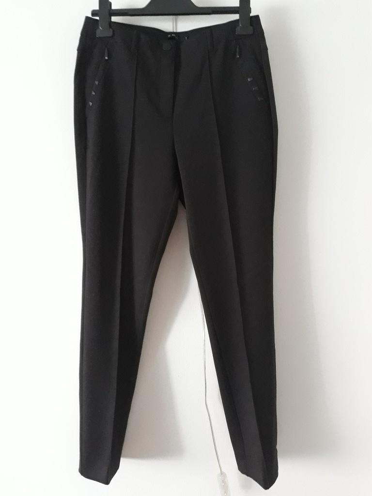 Spodnie czarne wizytowe Monnari rozmiar 36