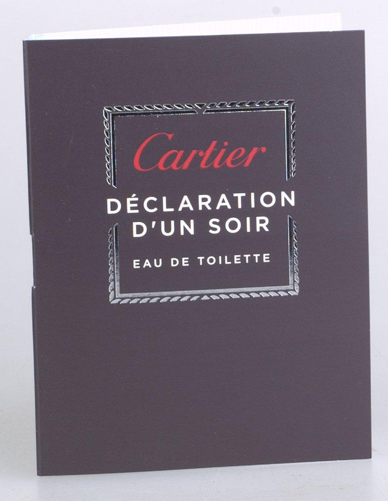 CARTIER DECLARATION D`UN SOIR EDT 1,5 ML próbka