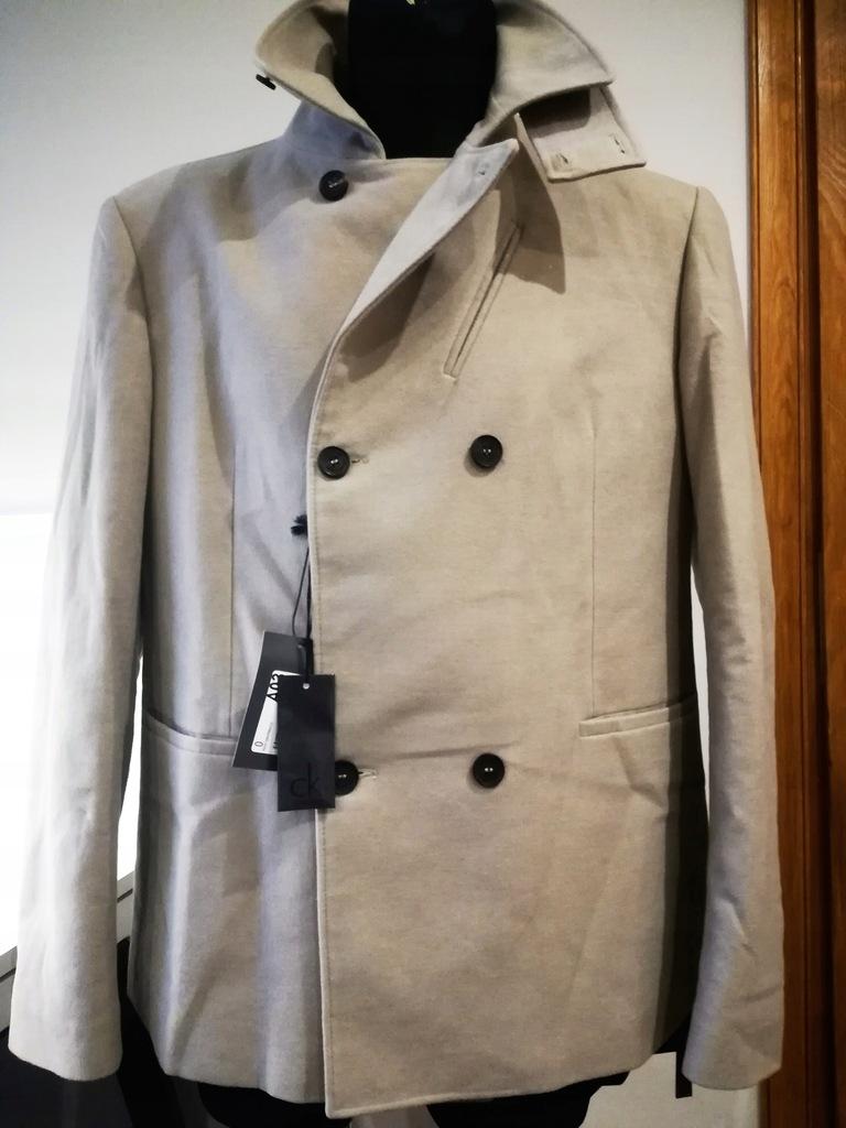 Płaszcz męski Calvin Klein rozm 52 - L/XL