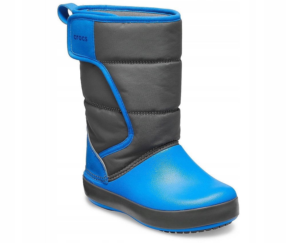 dziecięce buty Crocs Lodge Point Snow Boot -
