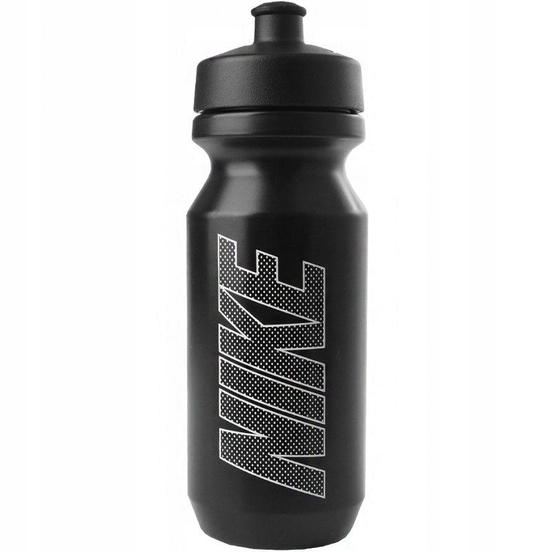 Bidon Nike Big Mouth 650 ml czarno-biały