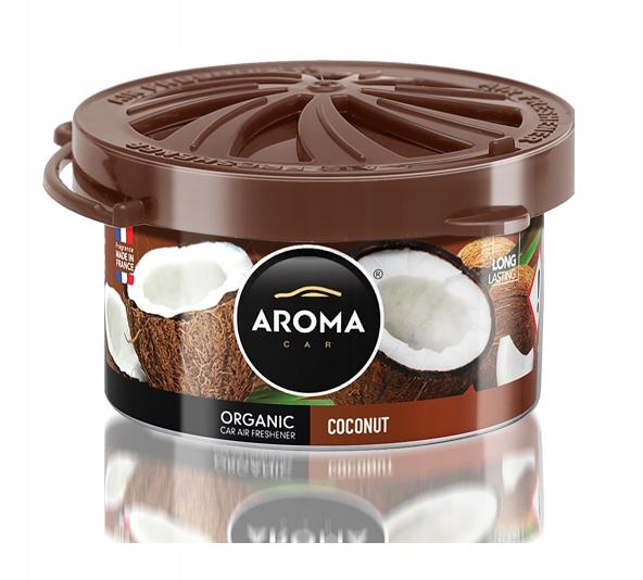 Zapach samochodowy ORGANIC AromaCar COCONUT kokos
