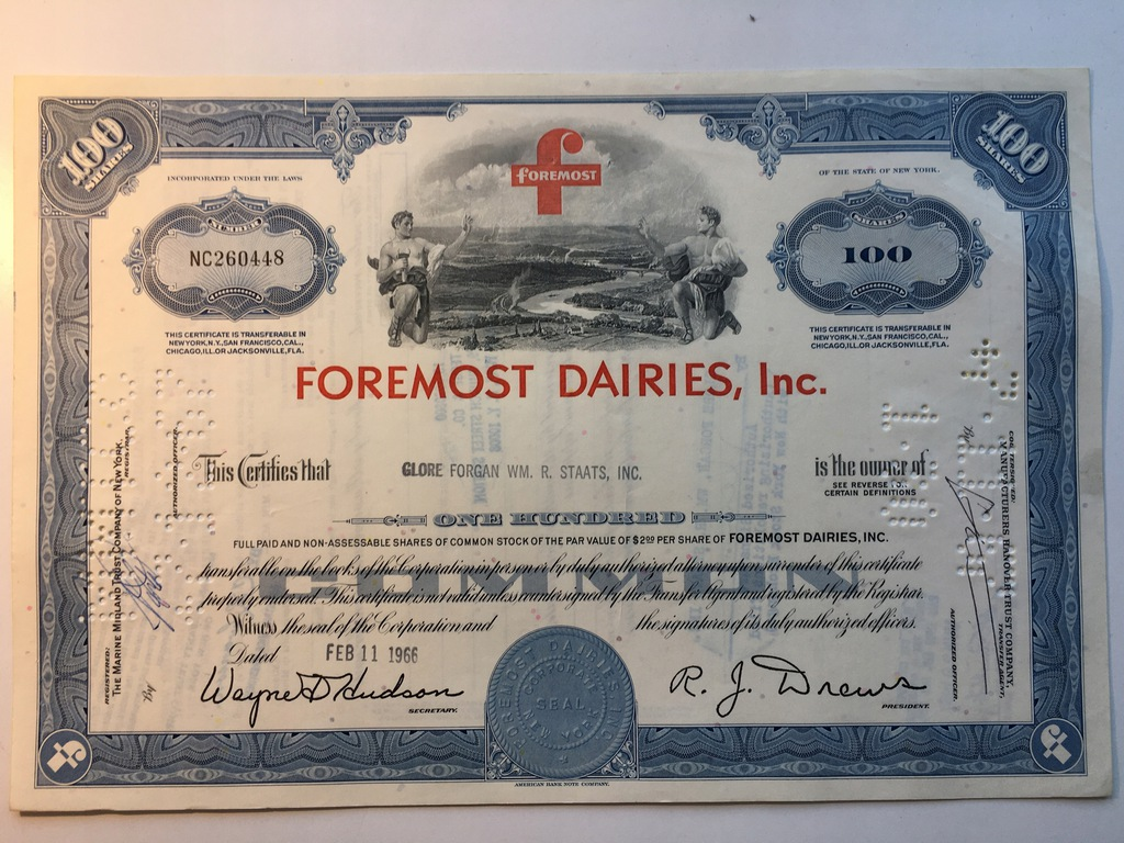 FOREMOST DAIRIES