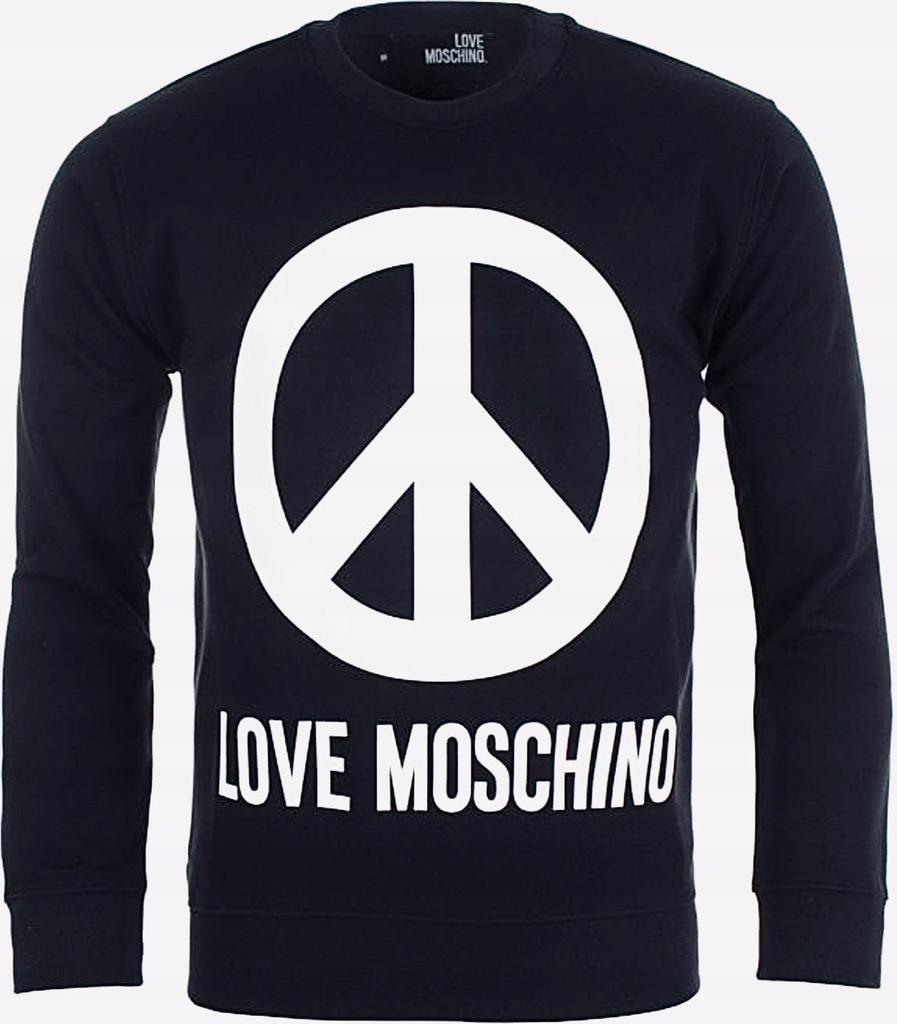 LOVE MOSCHINO oryginalna bluza r. XXL