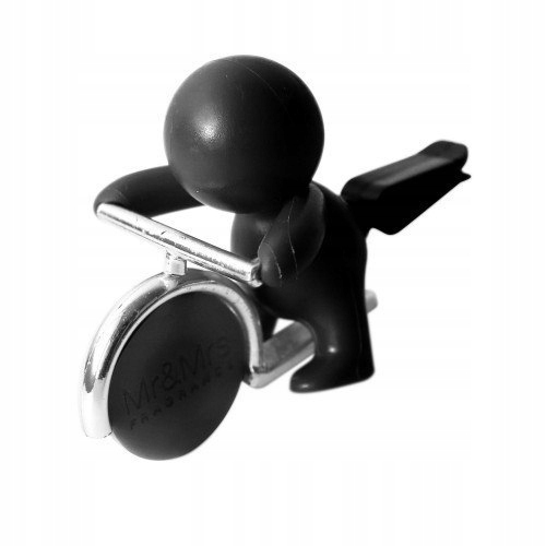 Mr&Mrs GINO Scent for Car, Black, with magneti