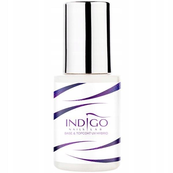 Indigo Base&Top Coat Baza i top 2w1 15ml