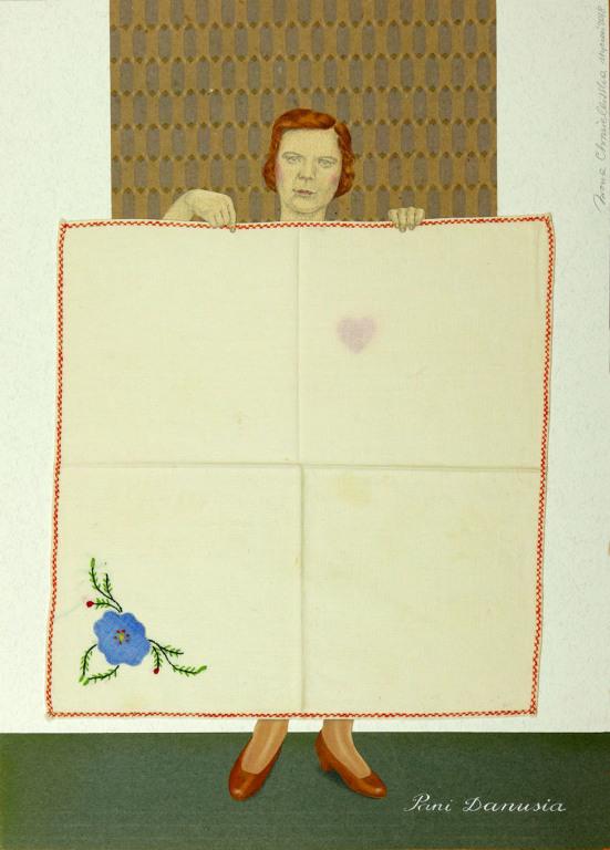 Pani Danusia - ilustracja Iwony Chmielewskiej