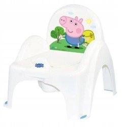nocnik krzesełko z pozytywką Peppa Pig biały-n