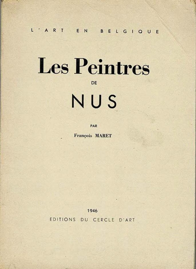 Les peintres de nus par François Maret akt Belgia
