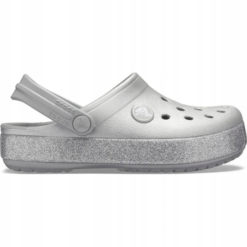 Crocs Crocband Glitter Clog Jr 205936 040 R. 32-33