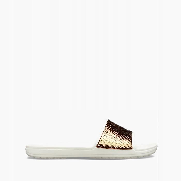 Crocs Sloane Metallic 205737 BRONZE/OYSTER 38,5