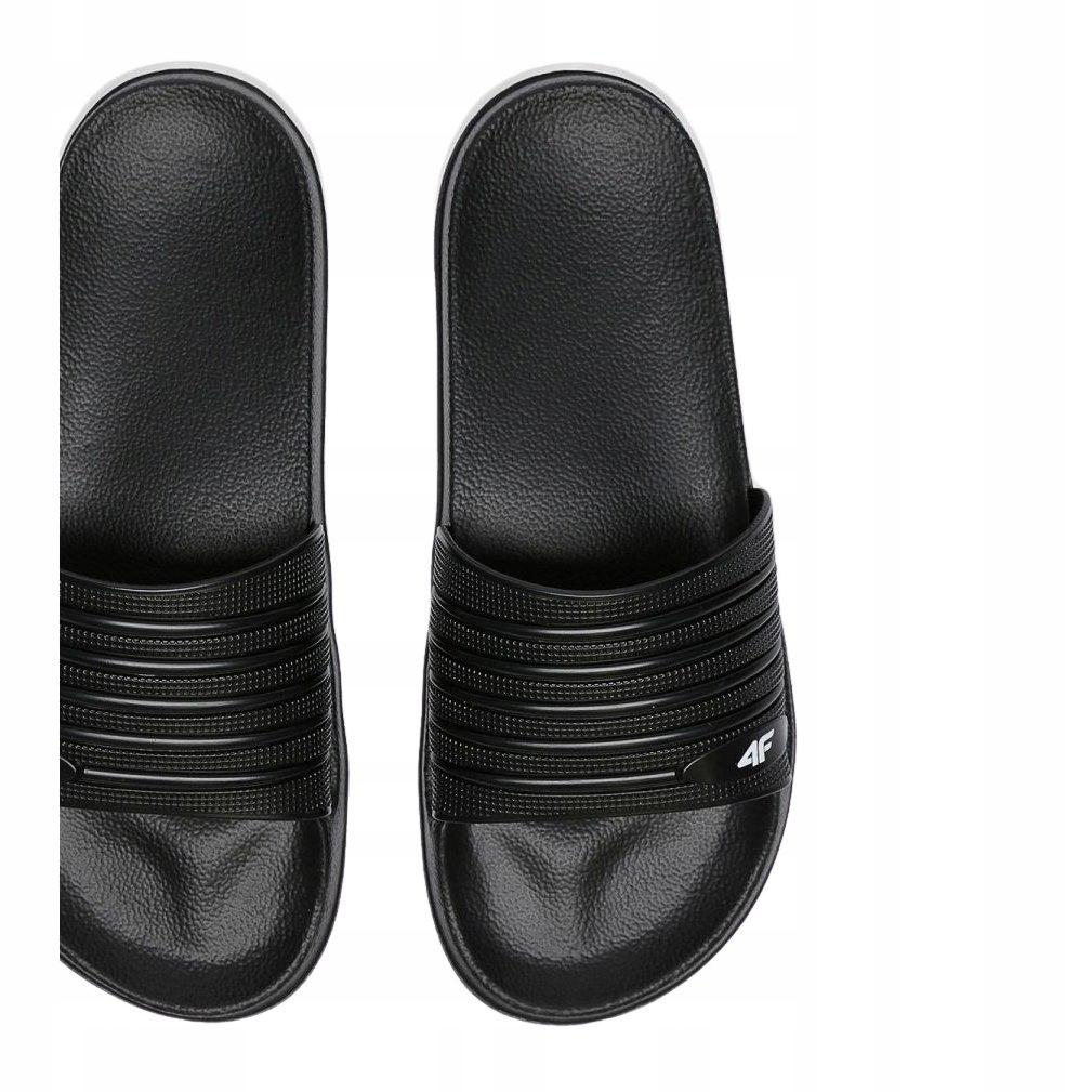 4F klapki obuwie męskie mężczyźni czarne r.45