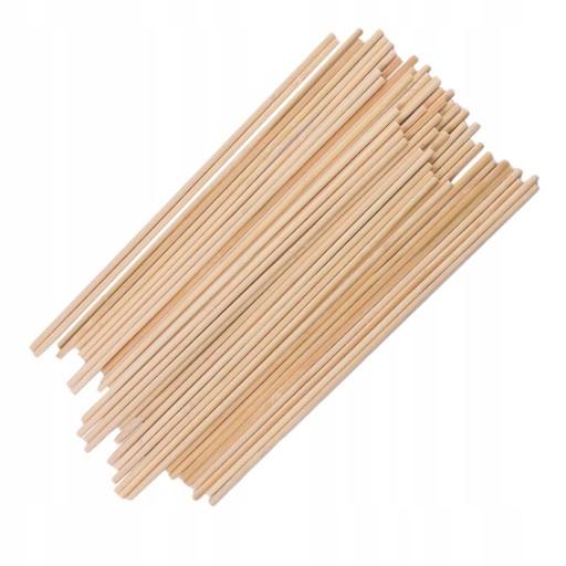 Bambusowy okrągły kij - Styl 2