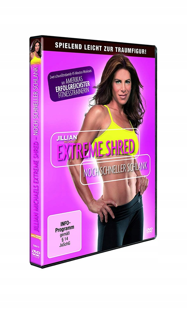 Jillian Michaels : Extreme Shred (DVD)