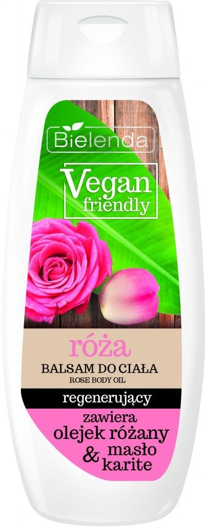 Bielenda VEGAN FRIENDLY Balsam do ciała RÓŻA