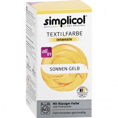 Słoneczno-Żółty barwnik do tkanin Simplicol