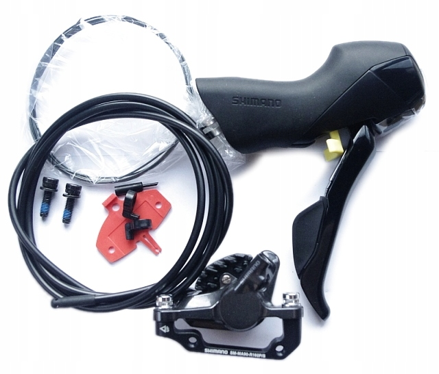 HAMULEC TYLNY SHIMANO ST-RS505 11s + BR-RS785 NOWY