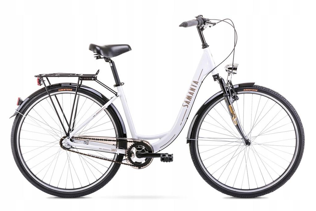 20L28115-Rower miejski SAMANTA 28 biały 18 3-bieg