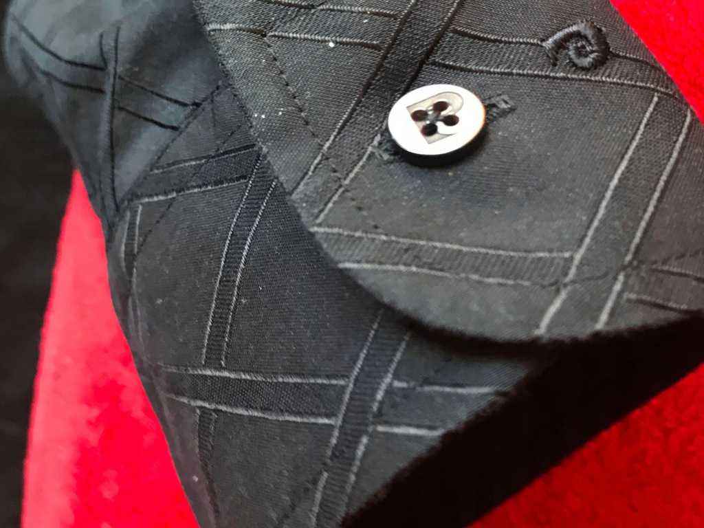 Koszula PIERRE CARDIN PARIS slim r.L 41 IDEAŁ -80%