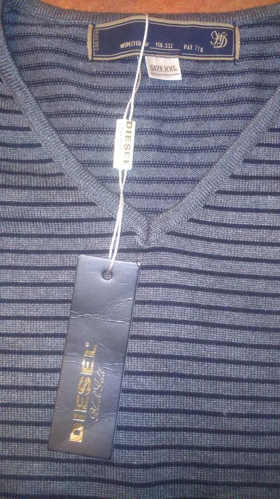 Nowy sweter Diesel xxl