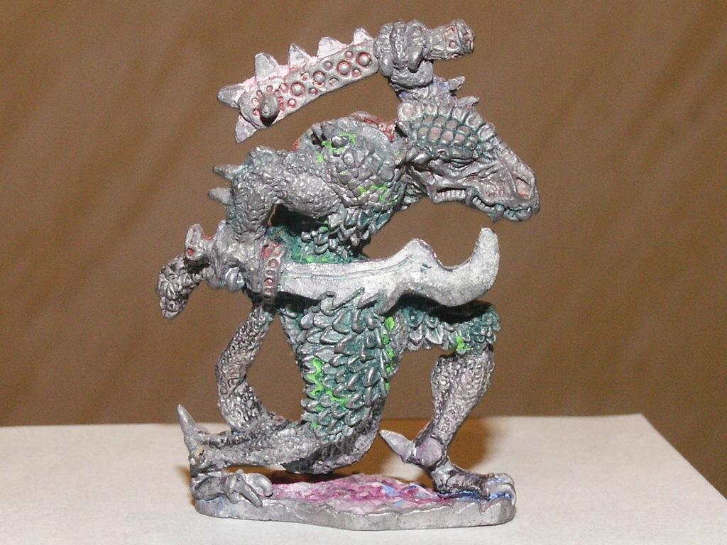 Warhammer- Lizardmen Saurus ???