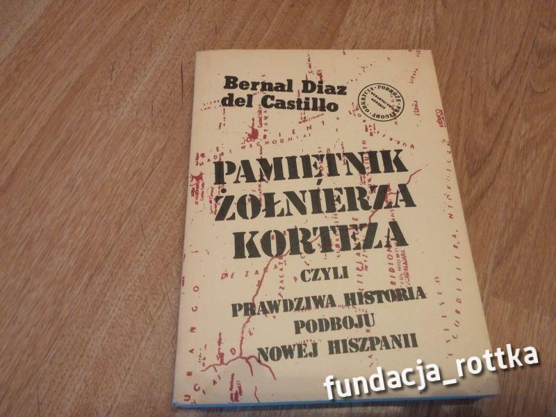 B.D Castillo PAMIĘTNIK ŻOŁNIERZA KORTEZA rottka.pl