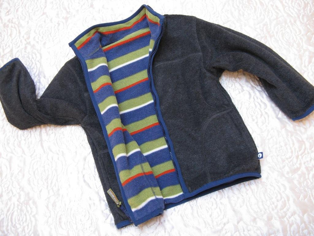 SUPER bluza kurtka dwustronna polar GYMBOREE 104