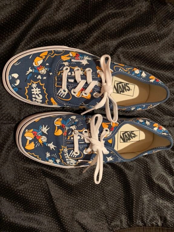 Donald duck vans | Disney sneakers, Sneakers, Vans