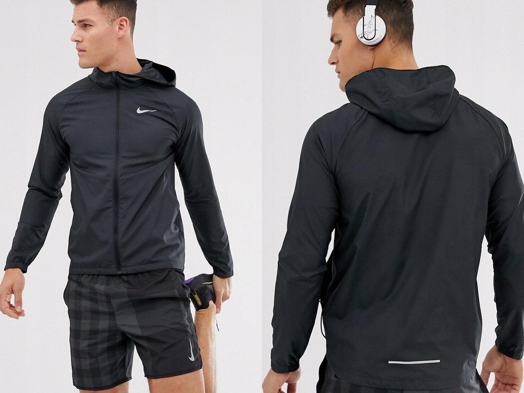 Nike Running Essentials Czarna kurtka