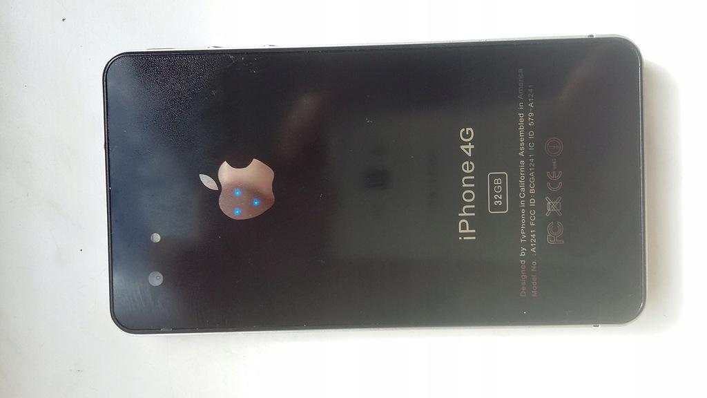 Iphone 4G Czarny 32Gb [d]