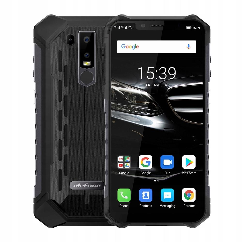 Ulefone Armor 6E 4/64GB IP68/69K 6,2'' LTE NFC Bla
