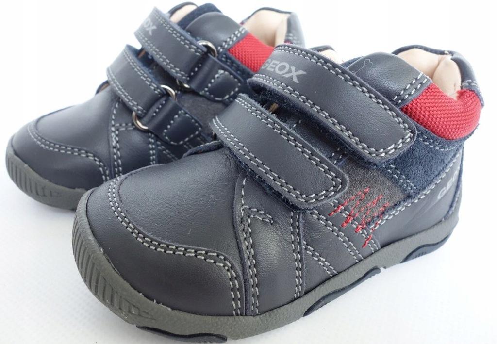 nowe GEOX półbuty adidaski r.19 chłopięce buciki