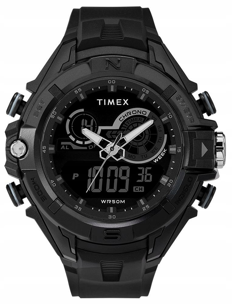 Zegarek Timex, TW5M23300, Męski, The Guard DGTL