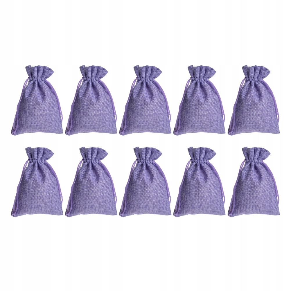 12 sztuk Kreatywny jutowy worek cukierków Torba do