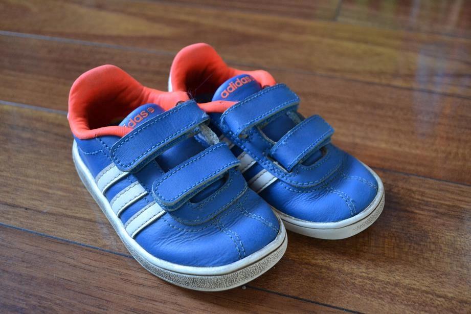 Adidas NEO Adidasy Półbuty Dziecięce Rzepy 24