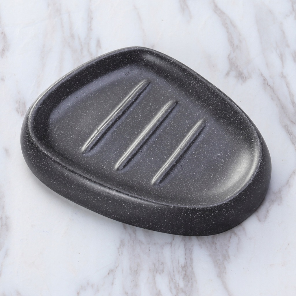 European Style Cobblestone Resin Soap Dish Simple