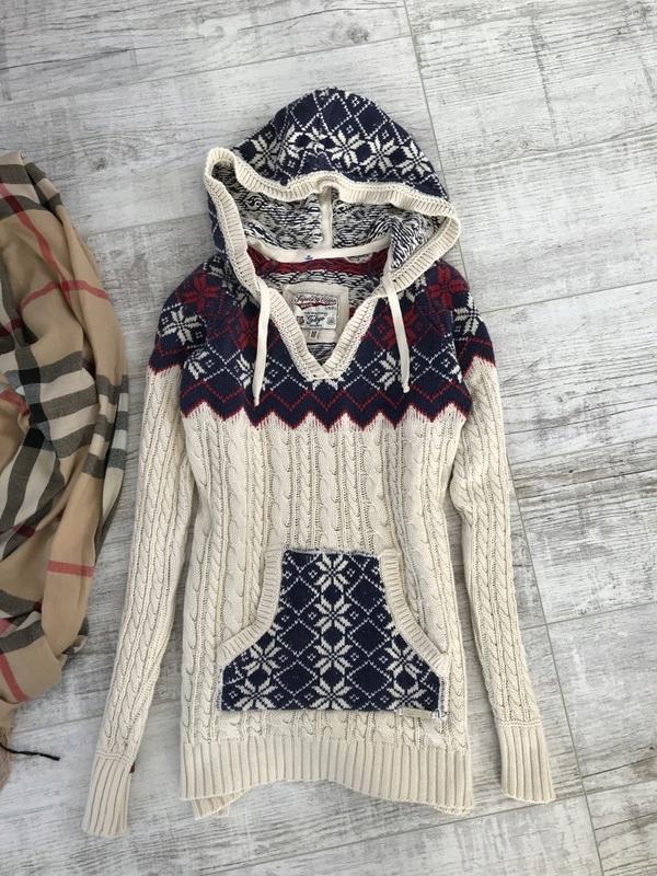 SUPERDRY sweterek z kapturkiem M 38