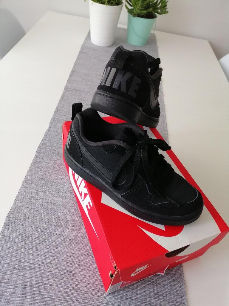 Nike court borough low czarne 35,5