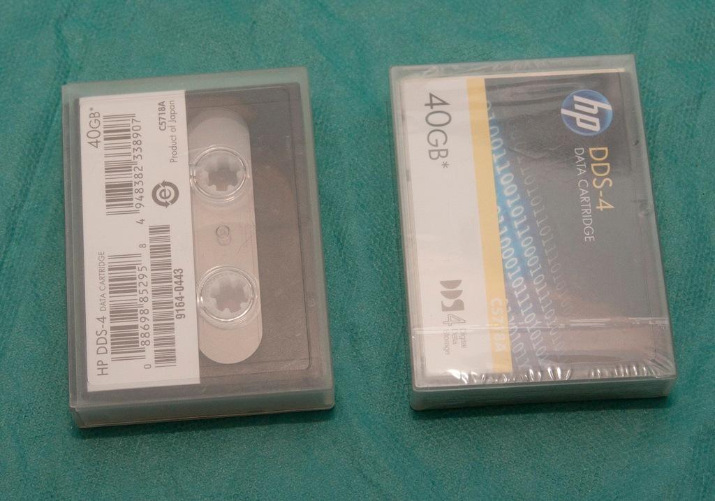 Taśma HP DDS-4 150 m 20/40 GB - 2szt.