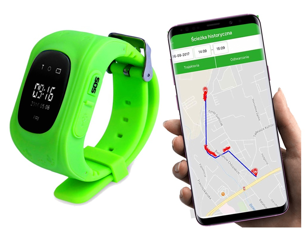Smartwatch z GPS do Google Pixel