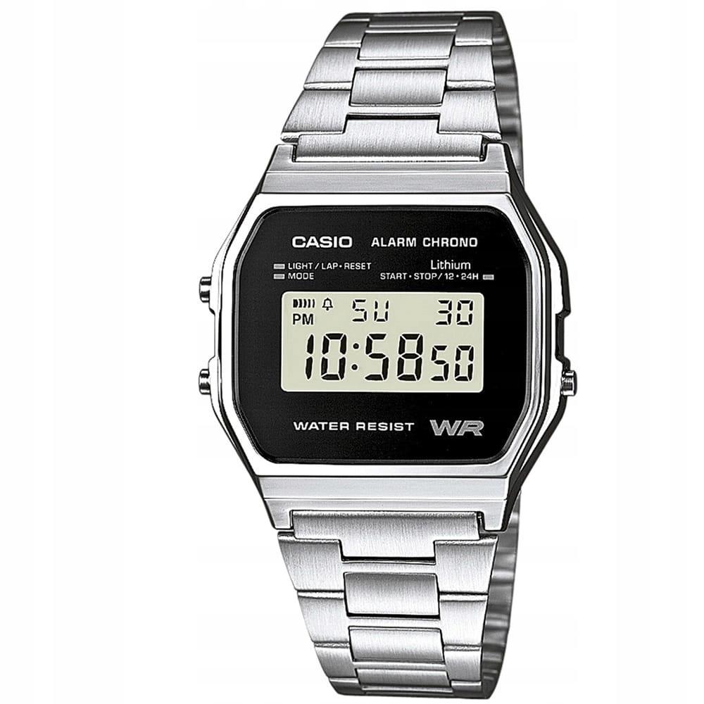 Zegarek męski Casio A158WEA-1