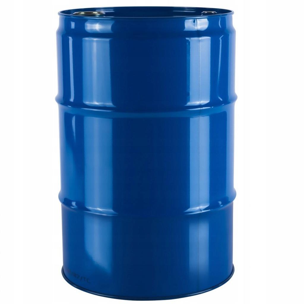 Beczka stalowa metalowa TH 216,5L niebieska 200L U