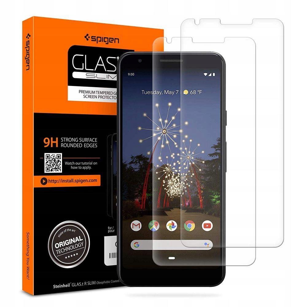 Szkło Spigen Glas Slim 2-Pack Google Pixel 3a Xl