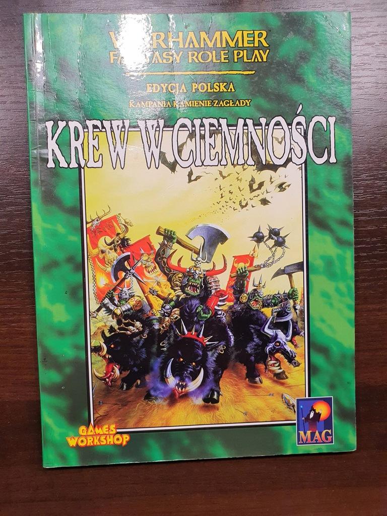 KREW W CIEMNOŚCI - Warhammer RPG - 1 edycja PL