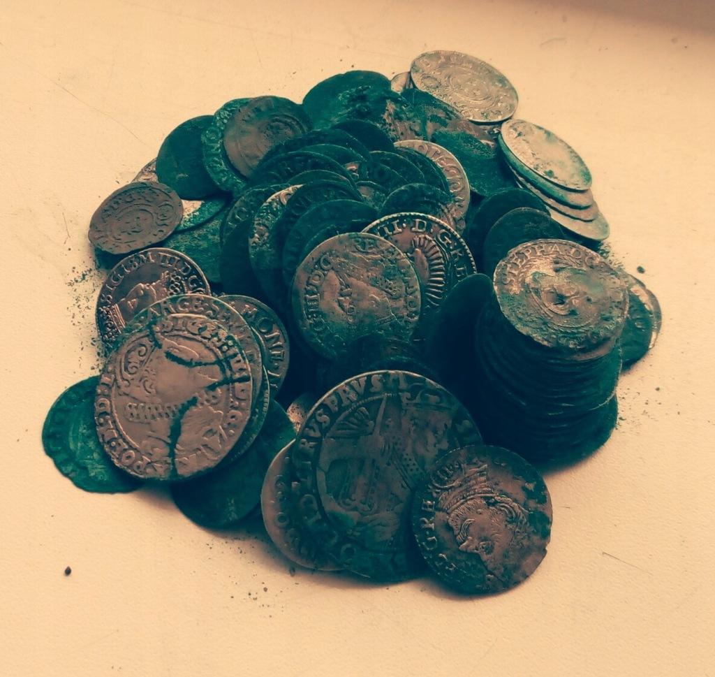 Kolekcja monet 17 wiek,208szt