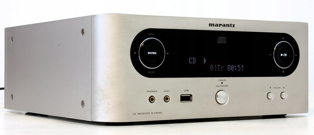 MARANTZ M-CR502 AMPLITUNER Z CD MP3 RDS USB MIDI