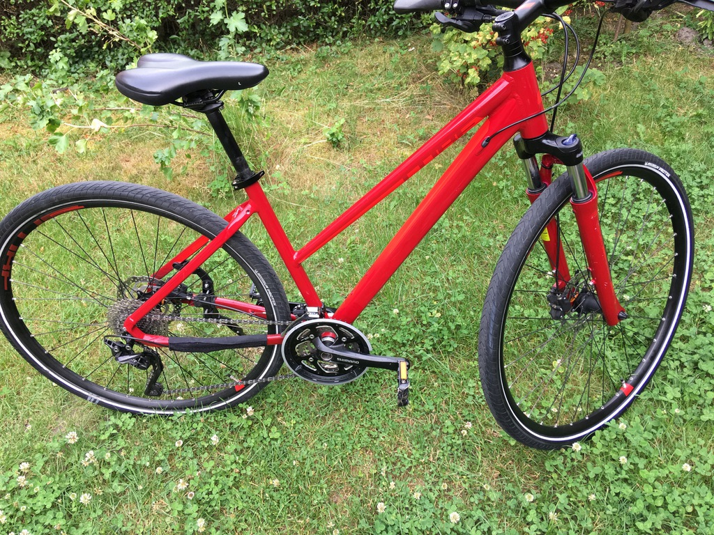 Rower crossowy CUBE Nature SL Shimano Deore XT
