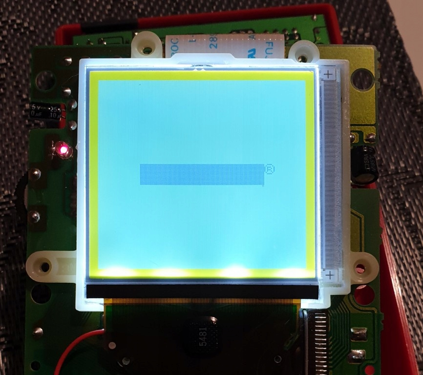 Gameboy Pocket, Classic podświetlenie backlight