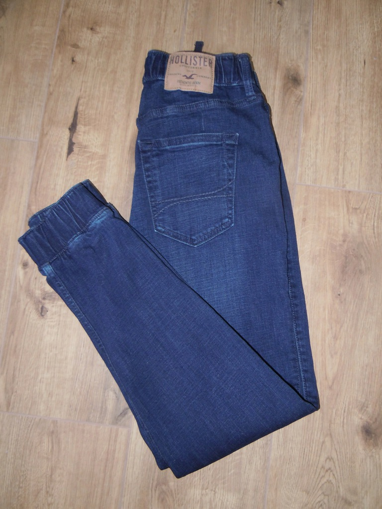 HOLLISTER JOGGER PANT jeansy r.S BDB