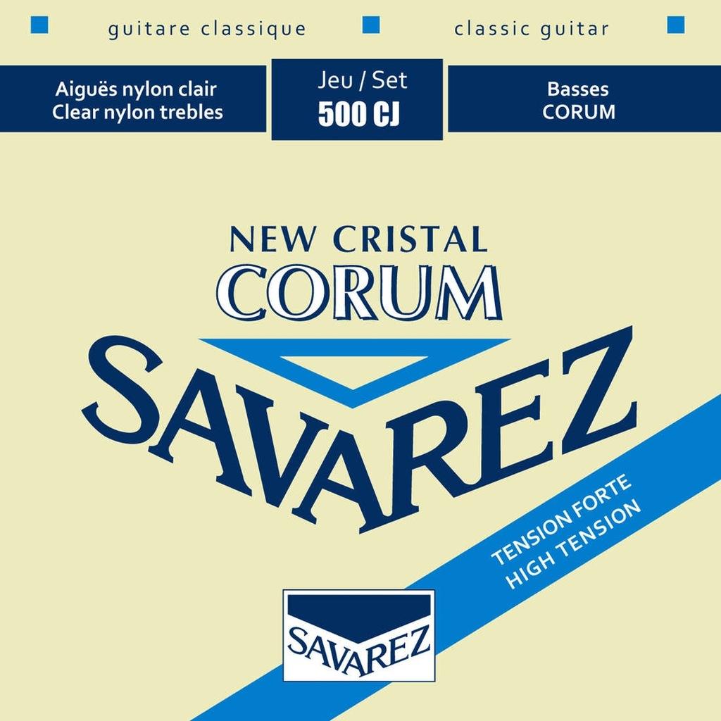 Struny Savarez New Cristal Corum Tension Forte